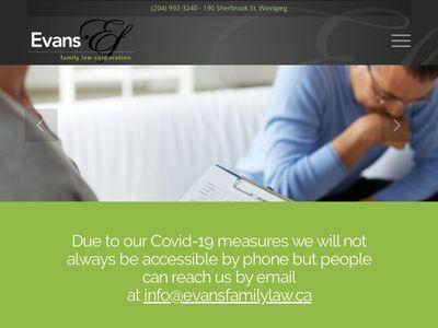 Evans Family Law