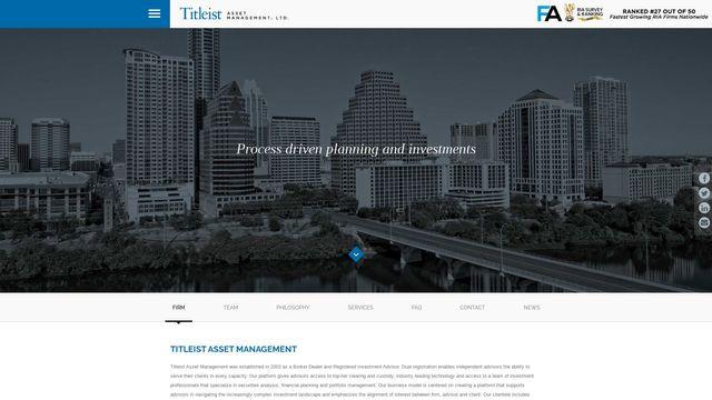 Titleist Asset Management, Ltd.