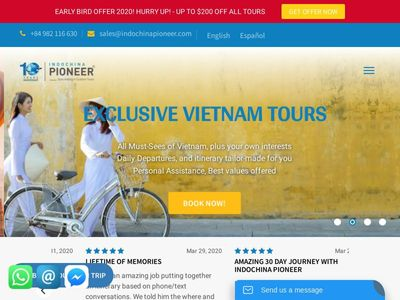 Indochina Pioneer Tours
