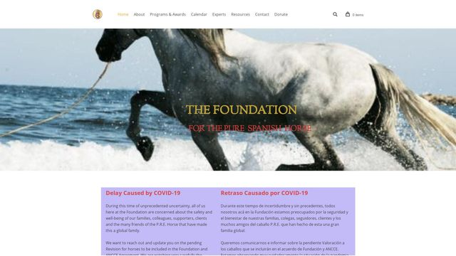 Foundation for the Pure Spanish Horse