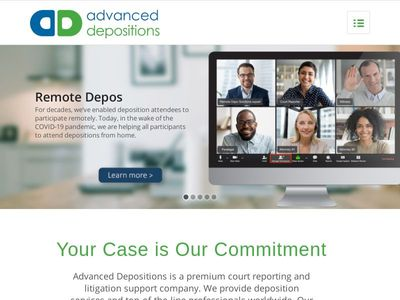 Advanced Depositions