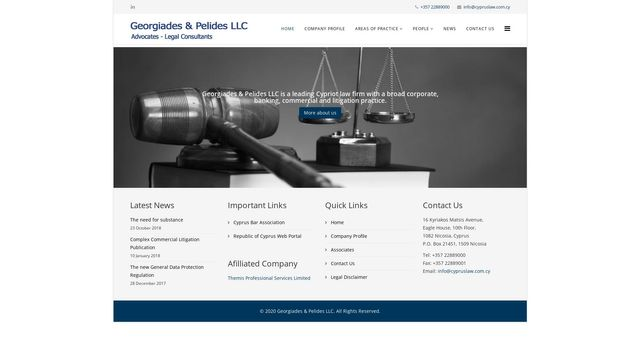 Georgiades & Pelides Llc