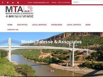 Mesfin Tafesse & Associates Law Office (MTA)