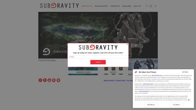Subgravity