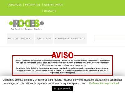 RO-DES Red Operativa de Desguaces Españoles