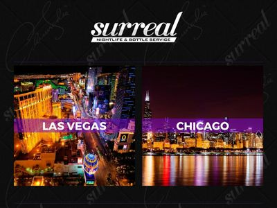 Surreal Nightlife Las Vegas