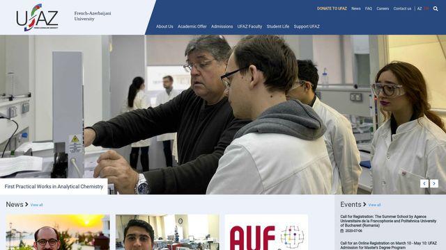 French-Azerbaijani University (under the Azerbaijan State Oil and Industry University ASOIU)