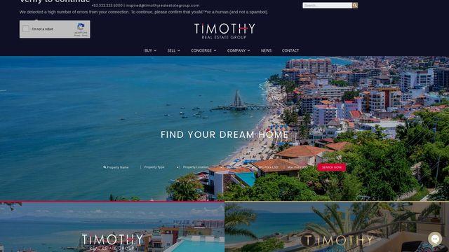 Timothy Real Estate Group | Vallarta Mexico