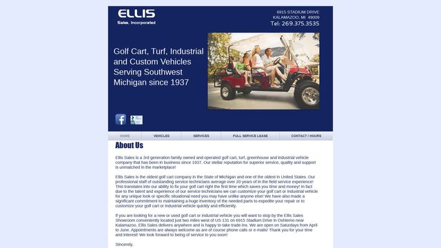 Ellis Sales, Inc.