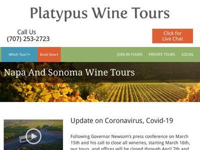 Platypus Wine Tours Limited