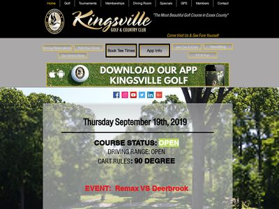 Kingsville Golf and Country Club Limited