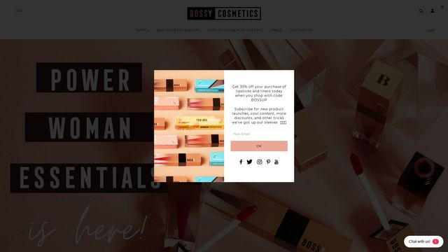 Bossy Cosmetics Inc
