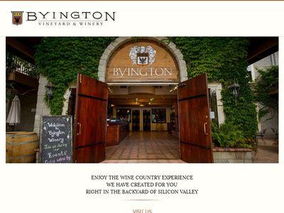 Byington Vineyard & Winery