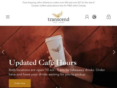 Transcend Coffee & Roastery