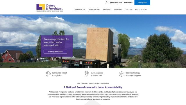 Craters & Freighters Franchise Company