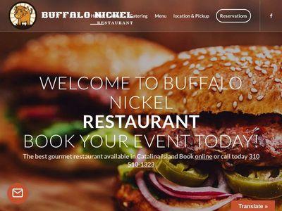 Buffalo Nickel Restaurant   Best Food in Catalina island