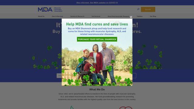 Muscular Dystrophy Association Inc.
