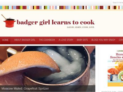 Badger Girl Learns to Cook by Kimberly Aime