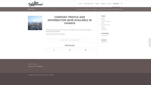 APW International Pty Ltd