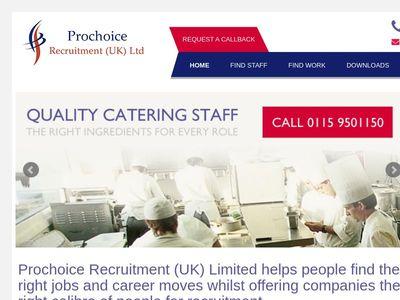 Prochoice Recruitment Services Ltd.