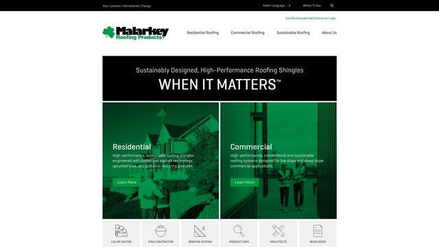 Herbert Malarkey Roofing Company