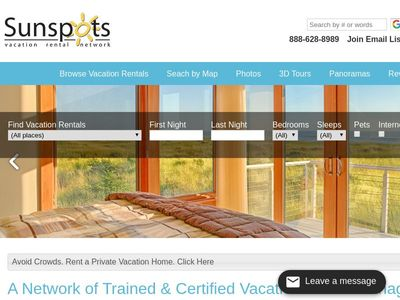 Sunspot Vacation Rentals Network, Inc.