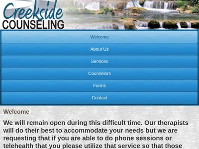 Creekside Counseling Center, Inc.