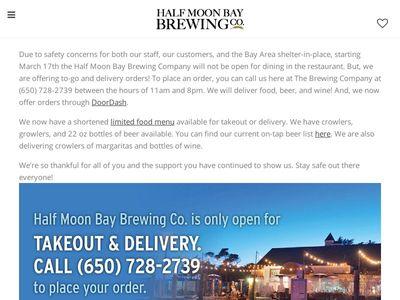 Half Moon Bay Brewing Company