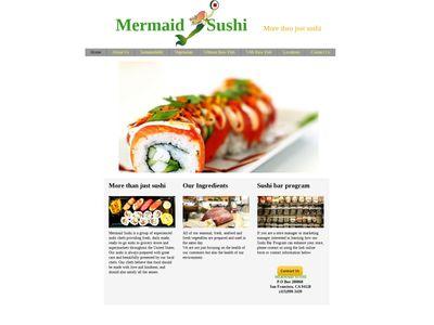 Mermaid Sushi