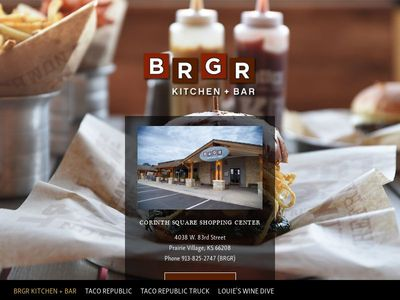 BRGR Kitchen + Bar