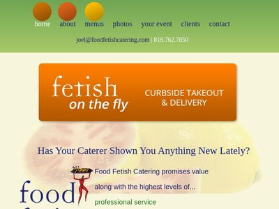 Food Fetish Catering | Catering Food and Drink Supplier in North Hollywood, CA