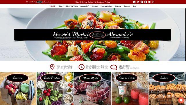 Howie's Alexander's