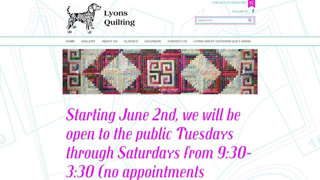 Lyons Quilting