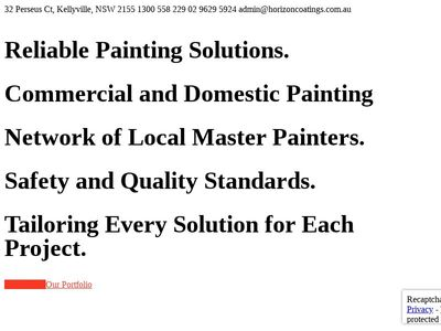 Horizon Coatings Pty Ltd.
