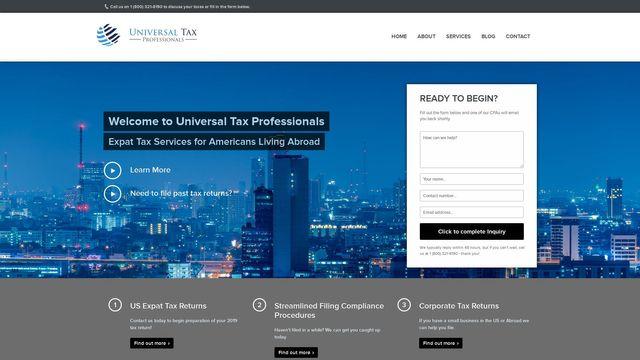 Universal Tax Professionals, LLC