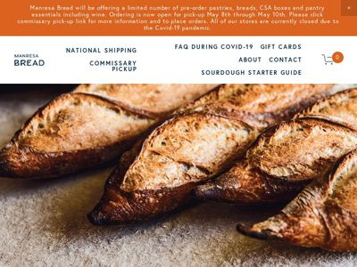 Manresa Bread Project LP