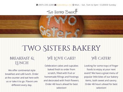 Two Sisters Bakery & Restaurant