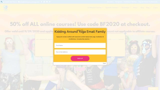 Kidding Around Yoga, LLC