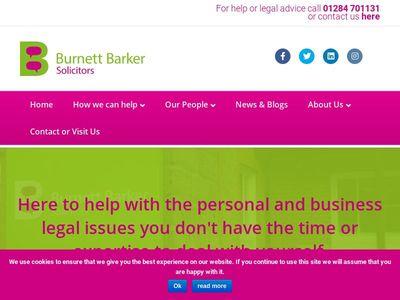 Burnett Barker Solicitors Ltd