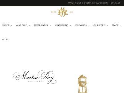 Martin Ray Vineyards & Winery