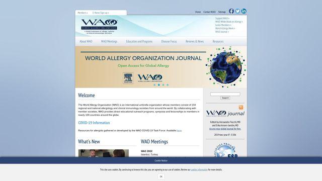 World Allergy Organization, Inc.