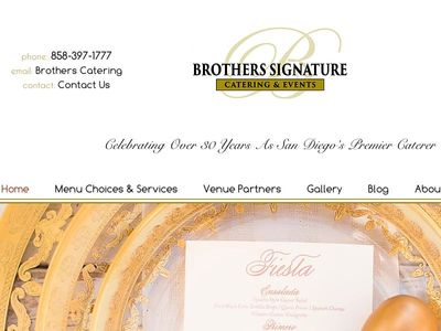 Brothers Signature Catering