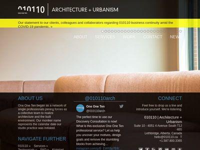 010110 Architecture + Urbanism