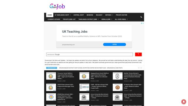 Government Job News and Updates