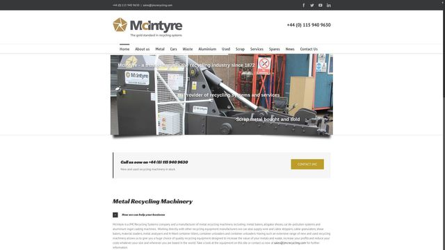 JMC Recycling Systems Ltd