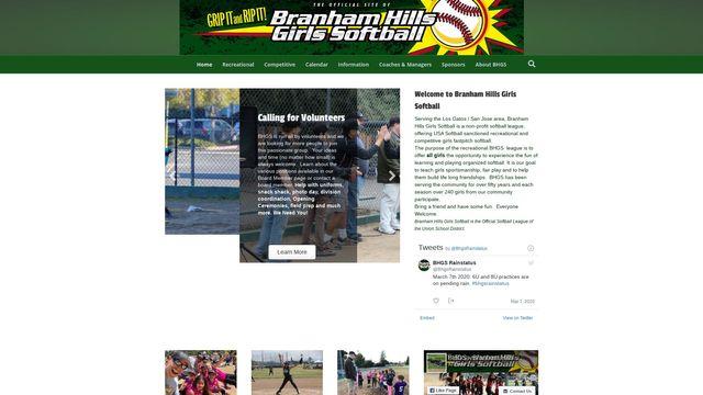 Emily - Branham Hills Girls Softball