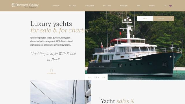 Bernard Gallay Yacht Brokerage - BGYB