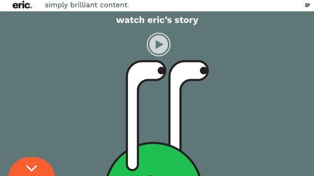 eric. simply brilliant content