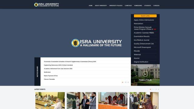 Isra University :: Official Website