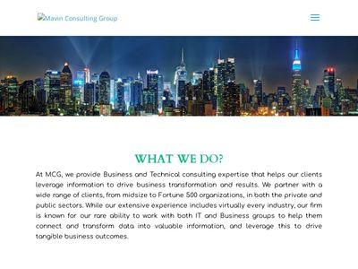 Mavin Consulting Group Inc